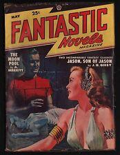 Fantastic Novels Pulp Magazine May 1948 VG