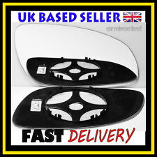 Right Driver Wing Mirror Glass Convex HEATED VAUXHALL VECTRA C MK3 2002-2008