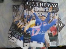 Chicago Cubs 2016 World Series November Sports Illustrated Magazine NEW!
