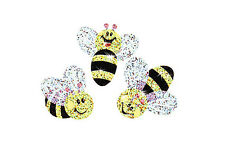 72 TREND Buzzing Bumblebees Sparkle reward praise craft stickers