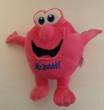 "Mr. Bubble Pink 8"" Plush Rare Advertising"