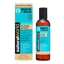 Moroccan Argan Oil- Miracle Oil for Body and Face 200ml