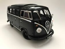 GREENLIGHT VOLKSWAGEN MICROBUS BLACK BANDIT 1:18 SCALE NEW IN BOX RARE! 1/18