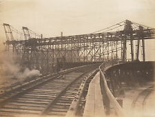 BROWN HOISTING COMPANY ~ RAIL-TO-LAKES CONST.~(3 PHOTOS)~CLEVELAND,OHIO~c-1910