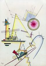 Delicate Soul- Wassily Kandinsky - 1925, Classic Artwork, A4 Poster