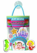 SOFT SHAPES TUB STICKABLES: MERMAIDS NEW HARDCOVER BOOK