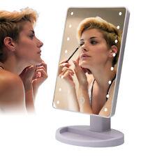 10-fach LED Vergrößerung Spiegel Kosmetikspiegel Schmink miT Licht Touch Screen