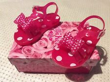 Kids girls genuine lelli Kelly sandals shoes size 7 uk / eu 25 infant new
