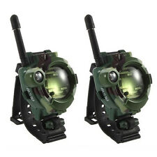 2PCS Green Children Toy Walkie Talkie Child Watches Outdoor Interphone
