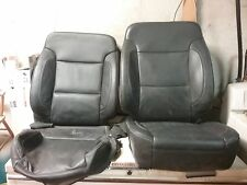 14 15 16 Sierra Silverado left & right front bucket leather seats heated cooled