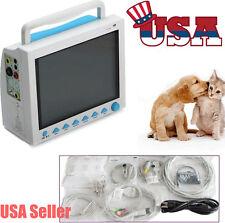 USA Fedex Vet ICU Patient Monitor Veterinary Multi-Parameter CCU CMS8000 VET FDA