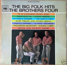 Vintage LP Record Album BIG FOLK HITS  THE BROTHERS FOUR CBS SBS-233073 60s 70s