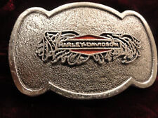 HARLEY BAR AND SHIELD BELT BUCKLE #B45