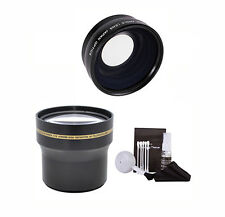 TELEPHOTO ZOOM LENS + Wide Angle MACRO  FOR NIKON D5000 D5100 D5200 D5300 D5500