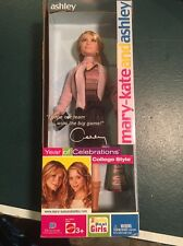 NIB Mary Kate And Ashley Doll Year Of Celebrations College Style Ashley Olsen
