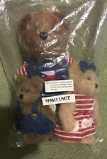 Boyd's Bears Set Of 3~Huck, Mandy, And Zack~New