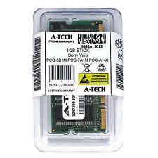1GB SODIMM Sony PCG-5B1M PCG-7A1M PCG-A140 PCG-A140/1 PCG-A140/B1 Ram Memory