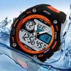 Men's Waterproof Alarm Date Sport Analog Digital LED Backlight Wrist Watch