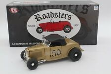 ACME 1:18 LA ROADSTERS 1932 Ford A1805007LAR Diecast Moldes