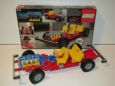 LEGO TECHNIC No 853 CAR CHASSIS 4 SEATER 100% COMPLETE w/ BOX + INSTRUCTIONS