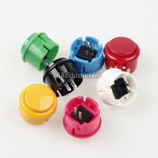10x OEM 30mm Push Button Replacement Arcade Sanwa OBSF-30 Buttons PC Games Jamma