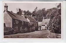 POSTCARD THE VILLAGE, GODSHILL. ESSEX TEAM ROOM BUILDING&THE NOW CHOCOLATE SHOP