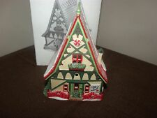 Dept 56 North Pole Series Candy Cane & Peppermint Shop Christmas Village House