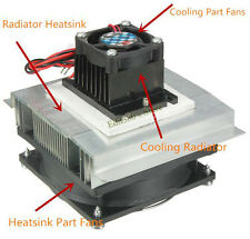 Thermoelectric Peltier Refrigeration Cooling System Kit Cooler fan + TEC1-12706