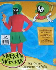 Looney Tunes Marvin the Martian Adult Costume w/ Jumpsuit, Skirt, Helmet & Mask
