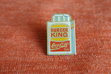 05825 PIN'S PINS BURGER KING COCA COLA COKE LTO PARIS