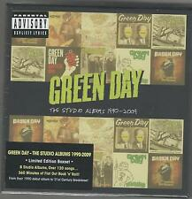 cd box green day the studio albums 1990 - 2009 8 cd