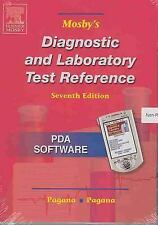 Mosby's Diagnostic and Laboratory Test Reference: CD-ROM PDA Software, Pagana MD