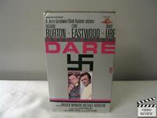 Where Eagles Dare (VHS) Large Case Richard Burton Clint Eastwood Mary Ure