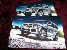 Mercedes-benz Clase G folleto 2014/2015 Inc G63 Amg + Precios