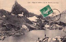 SAVOIE 1772 route du galibier lac des rochilles timbrée 1913