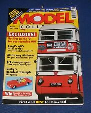 MODEL COLLECTOR AUGUST 2001 - DINKY'S GREATEST TRIUMPH/EFE CHANGES GEAR
