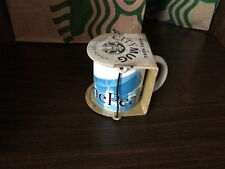 Starbucks Coffee Hong kong Mini Ceramic City Mug Collector Series ~The Peak 3 oz