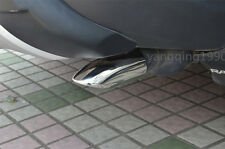 Stainless Steel Tail pipe exhaust pipe cover for Toyota RAV4 2013 2014 2015