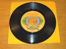 "PROMO SOUL 45 RPM - MADLYN QUEBEC - SUSSEX 201 - ""MY DARKEST HOUR"""