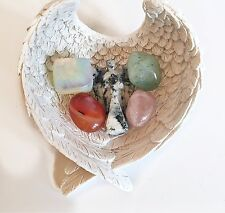 """REIKI ENERGY CHARGED """"CANCER"""" GENUINE CRYSTAL STONES HEALING SET GIFT WRAPPED"""