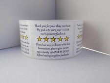 Thank you for your eBay purchase/FB sticker label sole proprietor (50 labels)