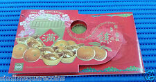1994-2004 Singapore Mint's Uncirculated Coin Set Hongbao Pack (Lot of 11 packs)