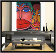 ABSTRACT MODERN CANVAS PAINTING CONTEMPORARY WALL ART ELOISExxx