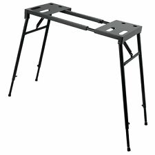On-Stage KS7150 Platform-Style Vintage Electric Piano Keyboard DJ Mixer Stand