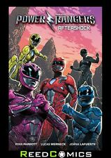 SABAN POWER RANGERS AFTERSHOCK MOVIE GRAPHIC NOVEL PREVIEWS EXCLUSIVE COVER