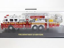 Code 3 FDNY Seagrave Aerialscope Tower Ladder #1 Fire Truck 1:64 Diecast 12738