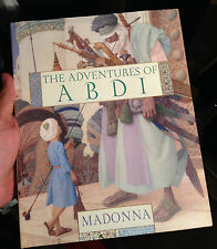 MADONNA SIGNED THE ADVENTURES OF ABDI HARDBACK BOOK QUEEN OF POP 100% GENUINE!