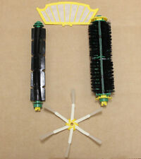 Beater & Bristle Brush + Filter & Side Brush for iRobot Roomba 500 600 Series