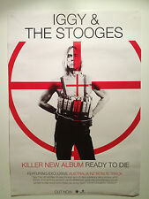 IGGY & THE STOOGES Ready To Die Album Promo Poster POP Raw Power PUNK ROCK *NEW*