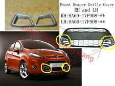 Pair front bumper BAR Grille FRONT GRILL for Ford Fiesta Sport 2009-2012